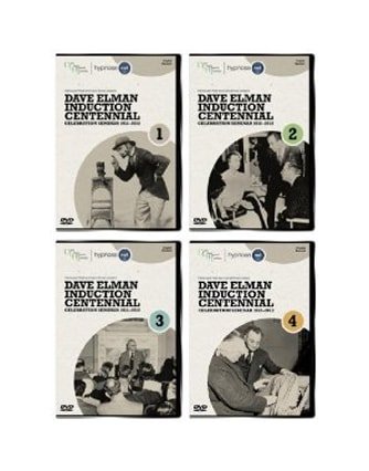 Hypnoseprodukte DVD Dave Elman Induction Centennial Celebration (1912-2012) 4-DVD-Set